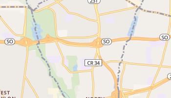 North Babylon, New York map