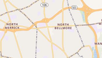 North Bellmore, New York map