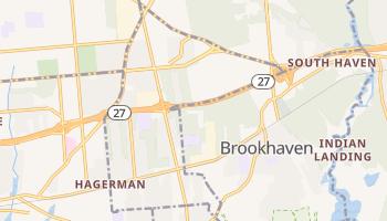 North Bellport, New York map