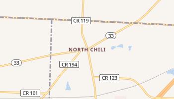 North Chili, New York map