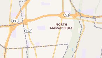 North Massapequa, New York map