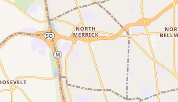 North Merrick, New York map