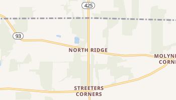 North Ridge, New York map