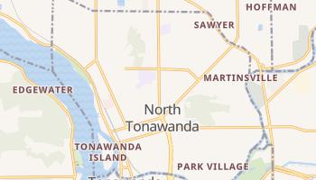 North Tonawanda, New York map