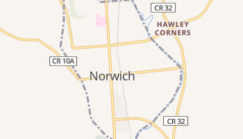 Norwich, New York map