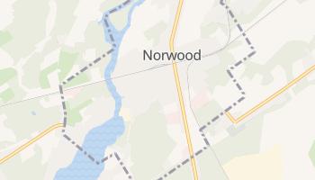 Norwood, New York map