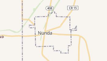 Nunda, New York map