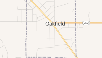 Oakfield, New York map