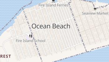 Ocean Beach, New York map