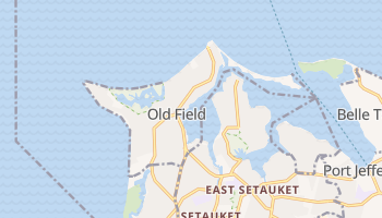 Old Field, New York map