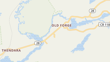 Old Forge, New York map