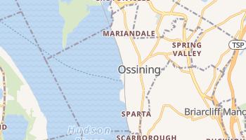 Ossining, New York map