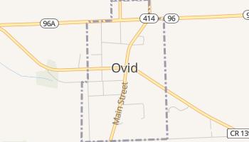 Ovid, New York map