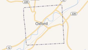 Oxford, New York map