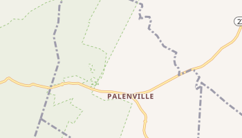 Palenville, New York map