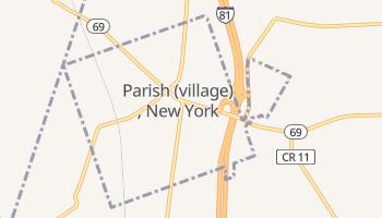 Parish, New York map