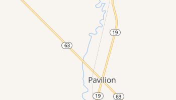 Pavilion, New York map