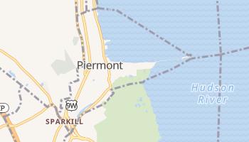 Piermont, New York map