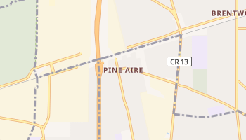 Pine Aire, New York map