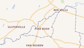 Pine Bush, New York map