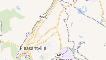 Pleasantville, New York map