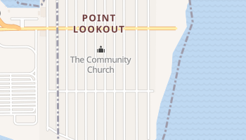 Point Lookout, New York map