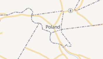 Poland, New York map