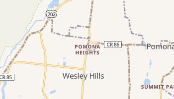 Pomona Heights, New York map