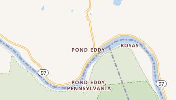 Pond Eddy, New York map