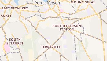 Port Jefferson Station, New York map