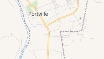 Portville, New York map