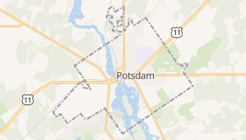 Potsdam, New York map