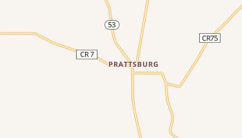 Prattsburg, New York map