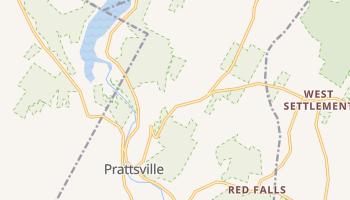Prattsville, New York map