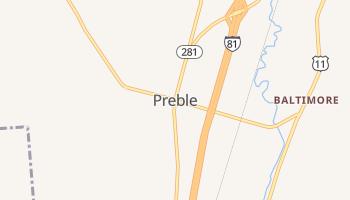Preble, New York map
