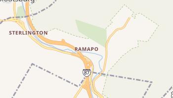 Ramapo, New York map