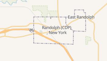 Randolph, New York map