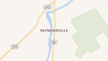 Raymondville, New York map