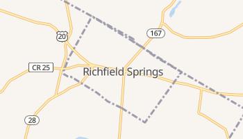 Richfield Springs, New York map