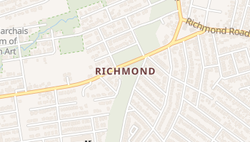 Richmond, New York map