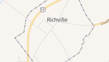 Richville, New York map
