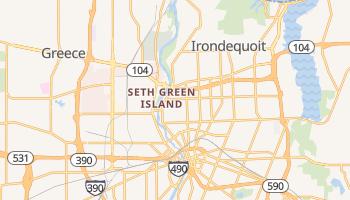 Rochester, New York map