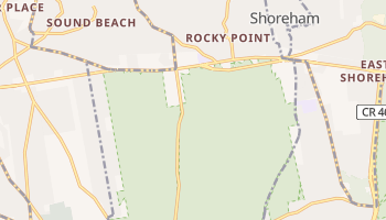 Rocky Point, New York map