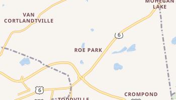 Roe Park, New York map