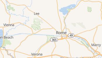 Rome, New York map