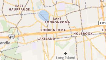 Ronkonkoma, New York map