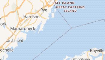 Rye, New York map