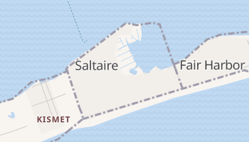 Saltaire, New York map