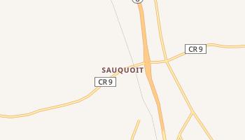 Sauquoit, New York map
