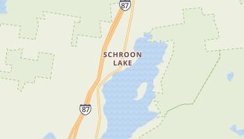 Schroon Lake, New York map